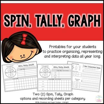 Spin, Tally, Graph ~ Organizing, Representing and Interpreting Data