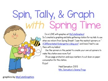 Spin, Tally, & Graph for Spring Time