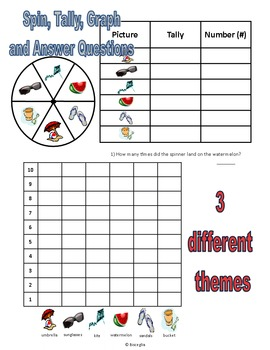 Math Spin, Tally, and Graph Bundle