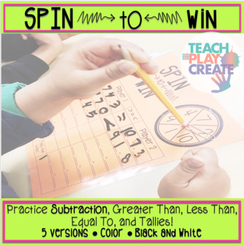 Spin To Win- Subtraction