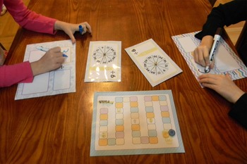 Division Facts Fluency Spin & Win Game