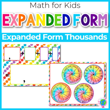 Expanded and Standard Form Numbers-Thousands