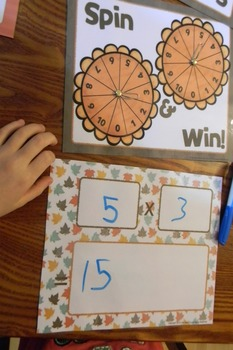 Multiplication Facts Fluency Game