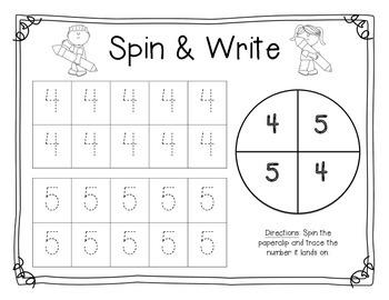 Spin & Write 0-10