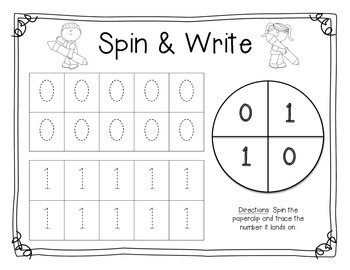 Spin & Write 0-20