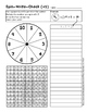 Spin~Write~Check - Multiplication Facts Practice