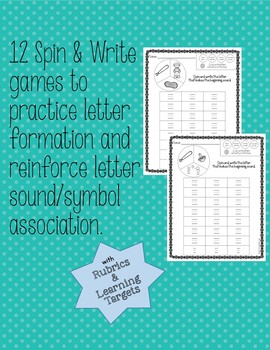 Spin & Write Letters