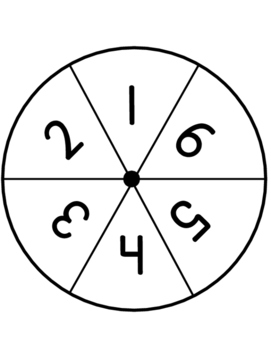 Spin & Write (number writing practice 1-6)