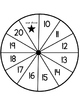 Spin & Write (teen number writing practice 10-20)