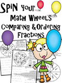 Spin Your Math Wheels with Comparing and Ordering Fractions