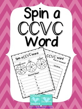 Spin a CCVC Word