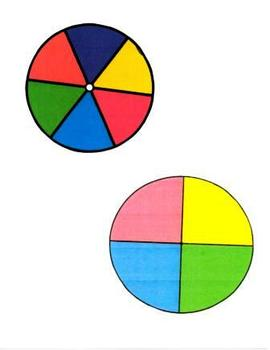 Spin a Color Math Game Set