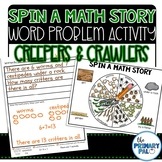 Story Problem Activity: Creepers & Crawlers Word Problems