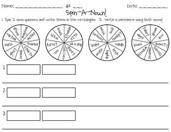Spin a Noun!