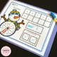 Spin a Number - A Winter Kindergarten Math Center