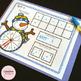 Spin a Number - A Winter Kindergarten Math Center