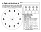 Spin a Number - Number of the Day - Number Sense Review