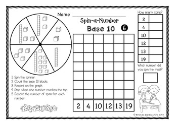 Spin-a-Number ~ Numbers to 20