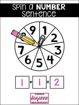 Spin a Number Sentence
