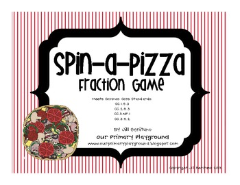 Spin a Pizza Fraction Game