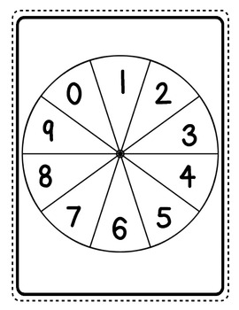 Spin a Problem Add and Subtract