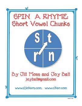 Spin a Rhyme:  Short Vowel Chunks
