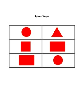 Spin a Shape