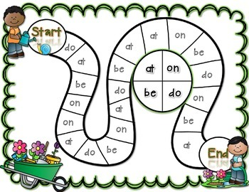 Spin a Sight Word! Spring Edition (Dolch Primer Sight Words)