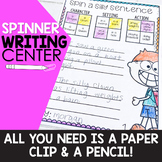 Spin a Silly Story Writing Center