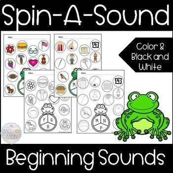 Spin-a-Sound Beginning Sounds