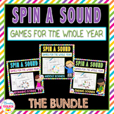 Spin a Sound Phonics Games Bundle    Distance Learning