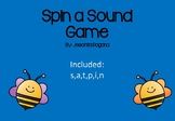 Initial Sound - Spin a Sound Game - SATPIN