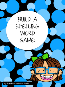 Spin a Spelling Word
