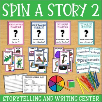 Story Starters Set 2 | Writing Activities | Writing Center | Story Elements