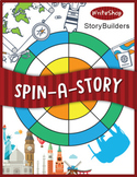 Spin-a-Story StoryBuilders | Printable Writing Prompt Spinners