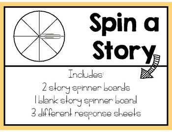 Spin a Story with Response Sheets