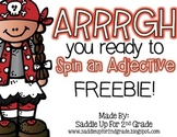 Spin an Adjective FREEBIE