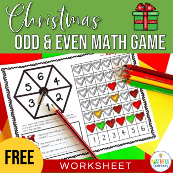Spin an Odd or Even Number - Christmas Freebie!