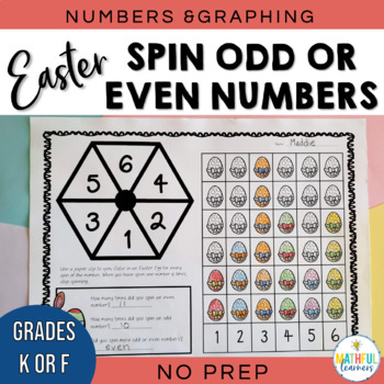 Spin an Odd or Even Number - Easter Freebie!