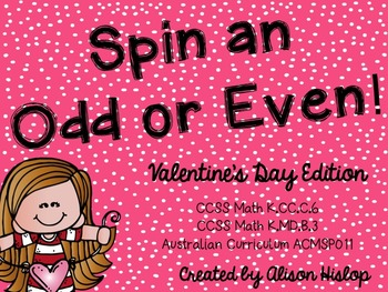 Spin an Odd or Even Number - Valentine's Day