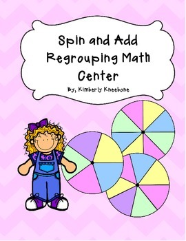 Spin and Add Pack: 2 Digit - 3 Digit Regrouping