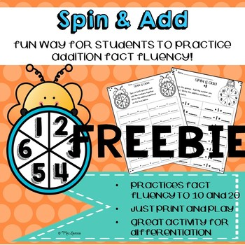 Spin and Add- Freebie