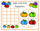 Spin and Add Pumpkins - Small Group / Folder Game for Math aligned to skills