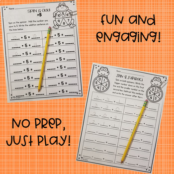 Spin and Add & Spin and Subtract Bundle