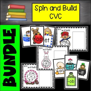 CVC Spin and Build Onset and Rime BUNDLE