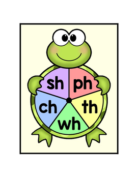 Digraph Game - Spin and Clip