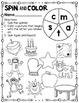 Spin and Color Alphabet Letter Edition *Sampler*