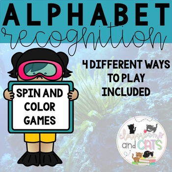 Spin and Color Alphabet Sheets