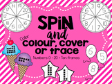 Spin and Color / Colour / Trace / Cover numbers 1 - 20