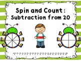 Spin and Count: Subtraction from 20